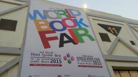 New Delhi światu targi książki Zdjęcia Royalty Free