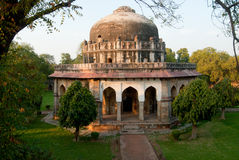 New Delhi. A monument in the Lodi Gardens in New Delhi, India Stock Photos