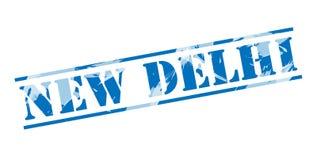 New delhi blue stamp Stock Photos