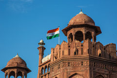 New Delhi fort, Indien Royaltyfria Bilder