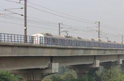 New Delhi gångtunneltunnelbana Indien Royaltyfri Fotografi