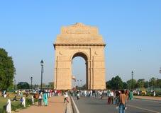 NEW DELHI, INDE - 27 novembre 2010 la voûte de porte d'Inde Image stock