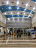 New Delhi, India - March 14,2019 : inside view of Rajiv Gandhi Cancer Institute & Research Centre   Hospital stock photography