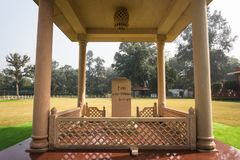 NEW DELHI, INDIA - SEPTEMBER 18: Gandhi Smriti, former Birla House. National Gandhi Museum New Delhi. India, 26 January 2018: Gandhi Smriti, former Birla House royalty free stock images