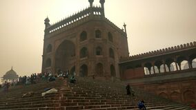 New Delhi jama masjit near Mera bazar
