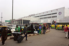 New Delhi railway station Royalty Free Stock Image