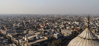 New Delhi Rooftops. A cityscape shot of New Delhi Stock Photos