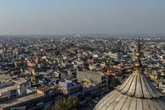 New Delhi Rooftops. A cityscape view of New Delhi Royalty Free Stock Image