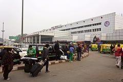 New Delhi stacja kolejowa Obraz Royalty Free