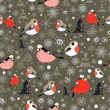 New design with birds Stock Photos