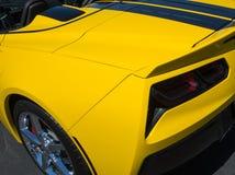 New design Corvette details Stock Image