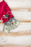 New design of hundred dollar bills Stock Photography