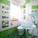 New design of toilet room Royalty Free Stock Images