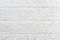 New design white concrete wall Royalty Free Stock Photos
