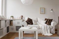 New design white furniture Royalty Free Stock Photos
