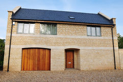 New Detached House. Exterior of a New Detached House Stock Image