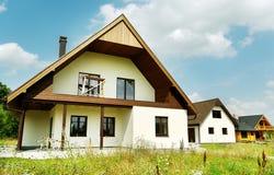 New detachet houses. Royalty Free Stock Photography