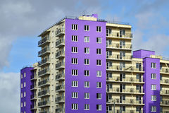 New development in district Selma. Kaliningrad, Russia Stock Photography