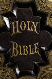 Holy Bible Front Royalty Free Stock Images