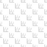 New diagram pattern vector seamless. Repeating for any web design Royalty Free Stock Photo