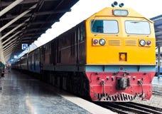 New diesel electeic locomotive Royalty Free Stock Photos