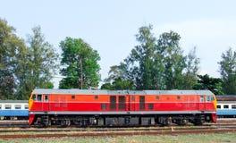 New diesel electric locomotive Royalty Free Stock Photo