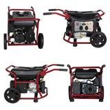 New diesel generator Stock Images