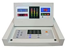 New digital control panel, diet medicine test Stock Image