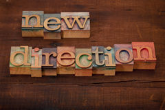 New direction concept Stock Photo