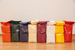 New disposable paper table napkins Royalty Free Stock Photos