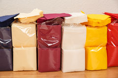 New disposable paper table napkins Stock Images