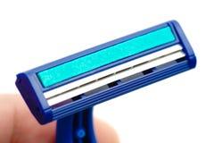New disposable razor blade Stock Photos