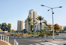 New district with modern buildings in Beer Sheva Royalty Free Stock Images