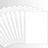 New documents in row. Royalty Free Stock Photo