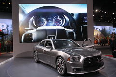 New Dodge Charger. Chicago auto show february 2011 Stock Photography