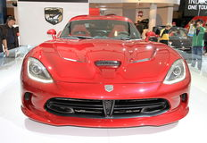 New Dodge Viper Royalty Free Stock Photography