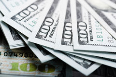 New 100 dollar bill Stock Images