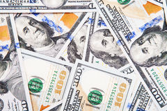 New 100 dollar bill Royalty Free Stock Photos