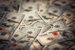 New 100 dollar bills Royalty Free Stock Images