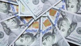 New dollars stock footage