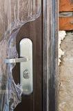 New door detail Stock Image