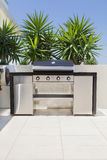 New double barbecue grill Stock Photos