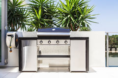 Free New Double Barbecue Grill Stock Photos - 28260133