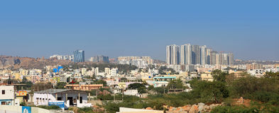 New downtown in Hyderabad India Stock Photos