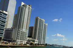 New Downtown Miami Stock Photography