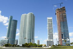 New Downtown Miami Stock Images