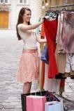 New dress royalty free stock photo