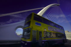 New Dublin bridge Stock Images