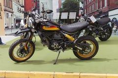 New Ducati Scrambler Desert Sled 800cc royalty free stock photo