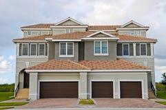 New Duplex House royalty free stock photo